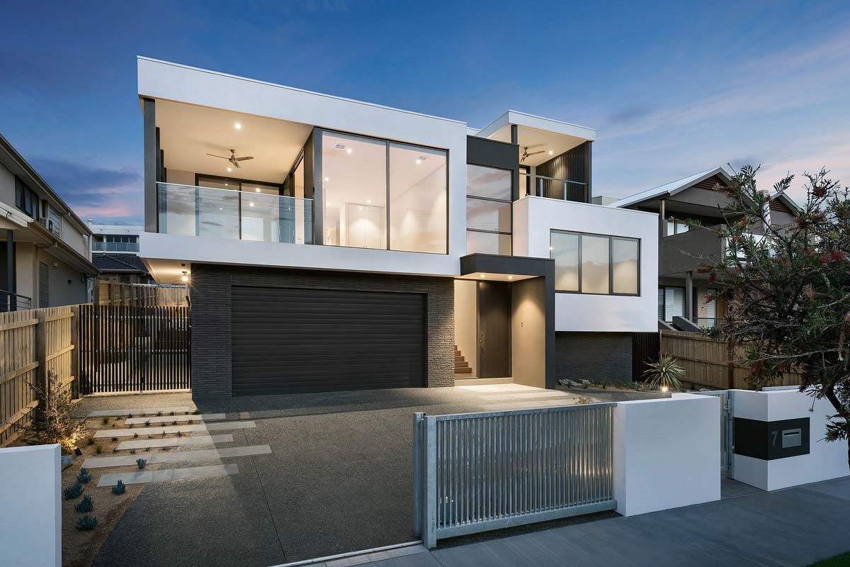 Custom home Mordialloc