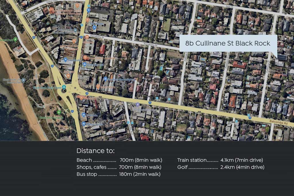 Map 8b Cullinane St Black  Rock