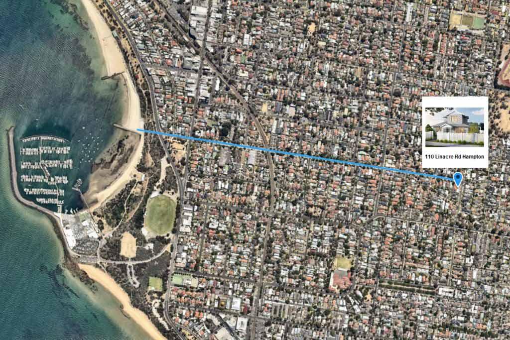 Map 110 Linacre Rd Hampton